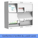 Coffret de communication grade 2 TV