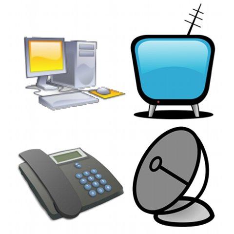 Coffret communication et télévision