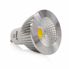 Ampoule LED GU10 5W Dimmable 4000°K Aluminium