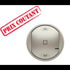 Enjoliveur de remplacement Céliane pour interrupteur ou commande pour volet roulant - titane