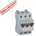 Disjoncteur DX3 3P 400V 10A courbe D