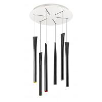 Luminaire Rocket noir - 6 LEDs de 2,2W