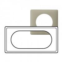 Plaque 4/5 modules Céliane Argile