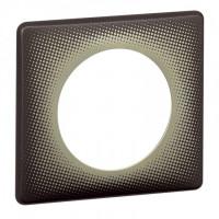 Plaque 1 poste Céliane Eclipse