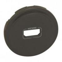 Enjoliveur prise audio/ vidéo HDMI - Graphite