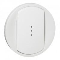 Enjoliveur interrupteur à voyant - Blanc - 068003 - Legrand