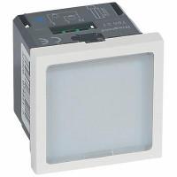 Signalétique lumineuse à LEDs bleues Mosaic 2 modules avec 1 état et puissance 0,2W ou 1W au choix