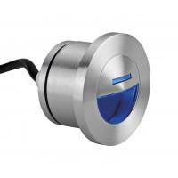 Spot encastré de balisage Muro 2 à LED bleu