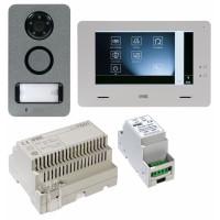 Kit interphone vidéo Mini Note + avec fonction domotique