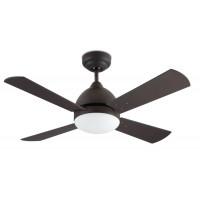 Ventilateur de plafond Borneo marron cuivré