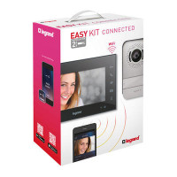 Portier visiophone Easy Kit connecté avec écran 7pouces noir