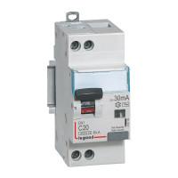 Disjoncteur différentiel 20A type AC 30mA - 410706 - Legrand