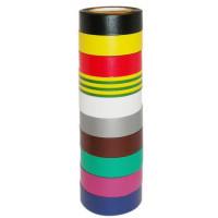 10 rubans adhésifs isolants multicolores