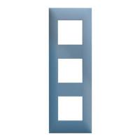 Plaque 3 postes - Pétrole