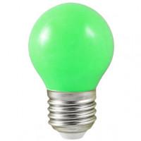 Ampoule LED E27 verte - 0,5W
