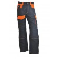 Pantalon de travail Élite gris/orange