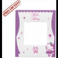 Plaque 1 poste Hello Kitty Danseuse - Espace Evolution