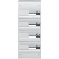 Tableau Gamma 4 rangées 13 modules - GD413A - Hager