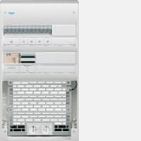 Coffret VDI semi-équipé 2 R. x 36 + platine Grade 3