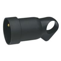Prolongateur à anneaux 2P+T 16A - Noir