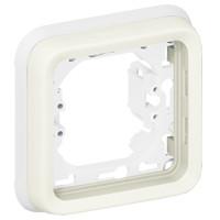 Support Plexo 1 poste - Blanc