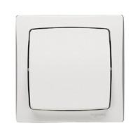 Poussoir - 6 A - blanc