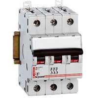 Disjoncteur triphasé - Vis/Vis - 6A - 407825 - Legrand