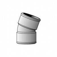 Coude FF 20° diamètre 50