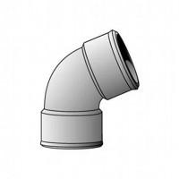 Coude FF 67°30 diamètre 40 P01783 NICOLL