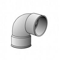 Coude FF 87° diamètre 80