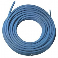 Tube PER prégainé bleu 10x12 en 100ml