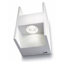 Applique Metric LED Blanc