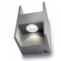 Applique Métric LED Gris