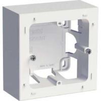 Boîte pour montage en saillie - 1 poste - Blanc