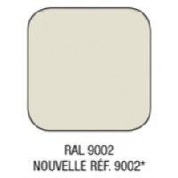 Option couleur RAL 9002