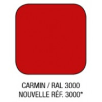 Option couleur CARMIN / RAL 3000
