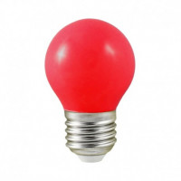 Ampoule LED E27 rouge - 0,5W