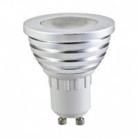 Ampoule LED RGB 3W GU10 + télécommande