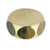 Bouchon laiton femelle 3x8 (12x17) Riquier Adrien 03805