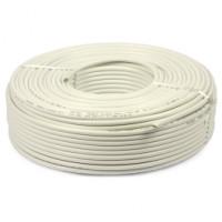 Câble souple blanc 3G1.5 en 50 mètres