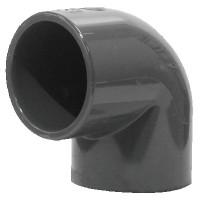 Coude PVC pression 90° FF 50