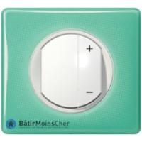 Ecovariateur Céliane blanc - Plaque 50's turquoise