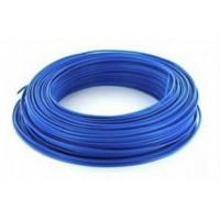 Fil H07VU 2.5mm² Bleu en 100m