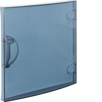 Porte transparente pour coffret 1 rangée 13 modules - GD113A - Hager - GP113T