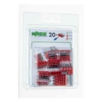 Boîte de 20 bornes Wago 4 entrées - Série 2273