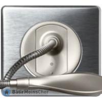 Liseuse Céliane titane - Plaque Aluminium