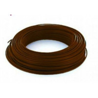Fil H07VU 1.5mm² Marron en 100m
