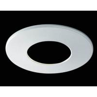 2 collerettes blanc mat pour spot H2 PRO 550T
