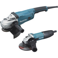 Ensemble de 2 meuleuses Makita diam. 125 et 230mm
