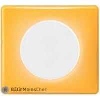 Obturateur Céliane blanc - Plaque Today jaune